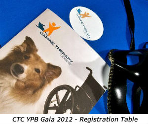 CTC YPB Gala 2012 - Registration Table