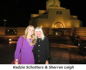 Kedzie Schotters and Sherren Leigh