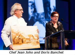 Chef Jean Joho and Doris Banchet