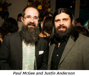 Paul McGee and Justin Anderson