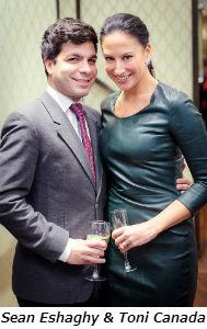 Sean Eshaghy and Toni Canada
