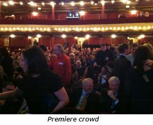 Premiere crowd