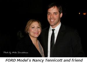 FORD Models Nancy Tennicott and friend