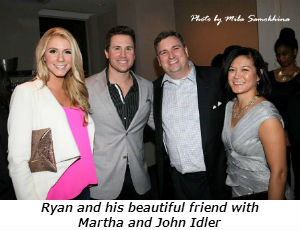 Ryan and his beautiful friend with Martha and John Idler