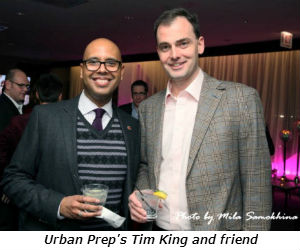 Urban Prep's Tim King and friend