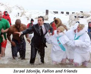 Israel Idonije Fallon and friends
