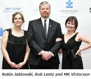 Robin Jablonski Rob Lentz and MK Victorson