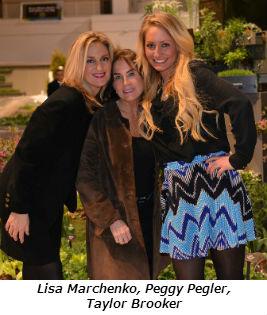 Lisa Marchenko Peggy Pegler Taylor Brooker