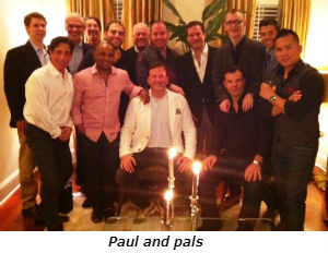 Paul and pals