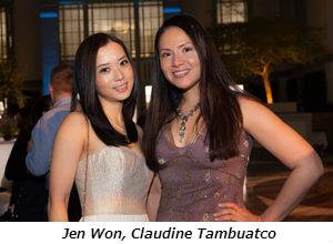 Jen Won, Claudine Tambuatco