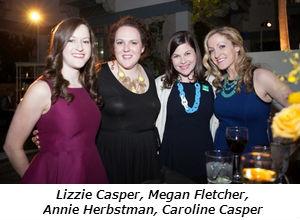 Lizzie Casper, Megan Fletcher, Annie Herbstman, Caroline Casper