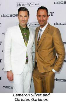 Cameron Silver and Christos Garkinos