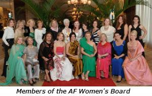 Members of the AF Women's Board