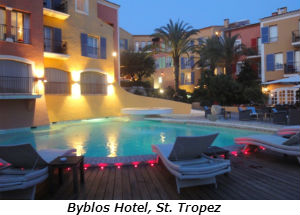 Byblos Hotel St Tropez