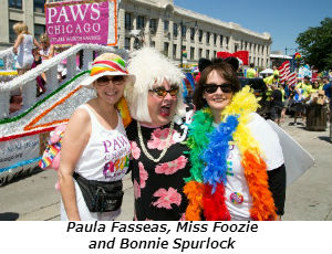 Paula Fasseas Miss Foozie and Bonnie Spurlock