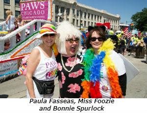 Paula Fasseas Miss Foozie and Bonnie Spurlock