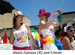 Alexis Fasseas and friends