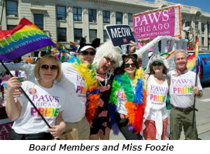 Board Members and Miss Foozie