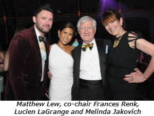 Matthew Lew co-chair Frances Renk Lucien LaGrange and Melinda Jakovich