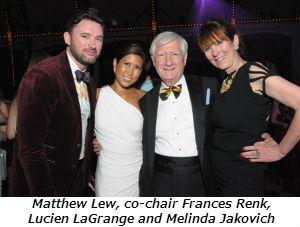 Matthew Lew co-chair Frances Renk Lucien LaGrange and Melinda Jakovich