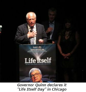 Governor Quinn declares it Life Itself Day  in Chicago