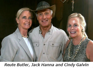 Reute Butler Jack Hanna and Cindy Galvin
