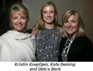 Kristin Koepfgen Kate Deming and Debra Beck