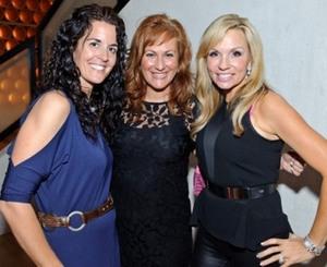 Krista Ward, Julee White and Kristina McGrath