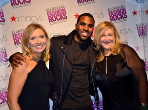 Andrea Schwartz, Jason Derulo and Robin Reibel.