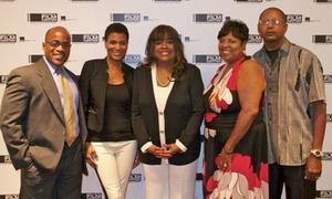 Chaz and family--Daniel Jackson, Sonia Evans, Chaz, Ina and Eugene Jones