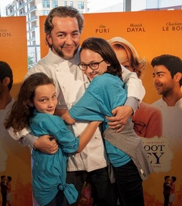 Chef Merges with daughters Tatum and Gretl