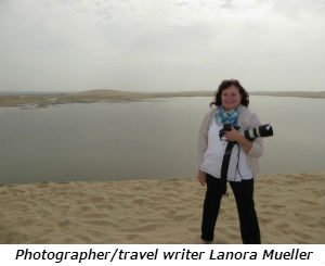 Photographer travel writer Lanora Mueller