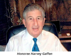Honoree Harvey Gaffen