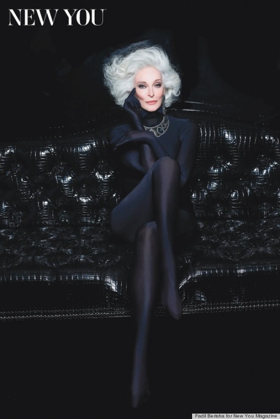 Carmen Dell Orefice in New You Mag