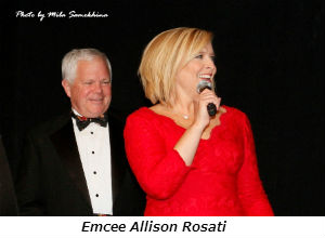 Emcee Allison Rosati