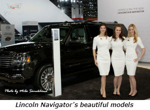Lincoln Navigators beautiful models