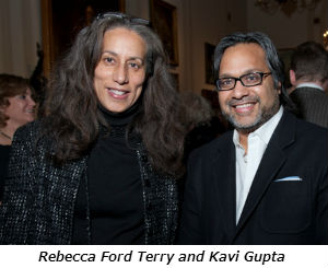 Rebecca Ford Terry and Kavi Gupta