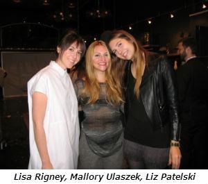 Lisa Rigney Mallory Ulaszek Liz Patelski