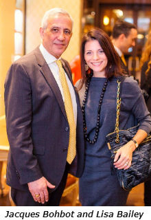 Jacques Bohbot and Lisa Bailey