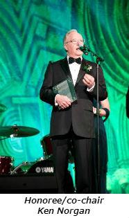 Honoree-co-chair Ken Norgan