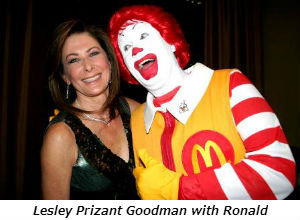 Lesley Prizant Goodman with Ronald