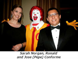 Sarah Norgan Ronald and Jose Eduardo Conforme