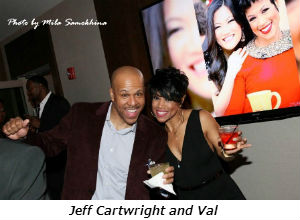 Jeff Cartwright and Val