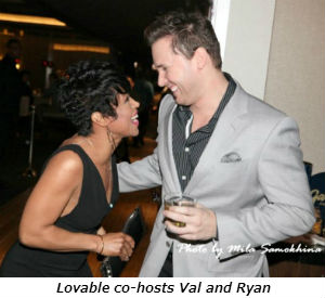 Lovable co-hosts Val and Ryan