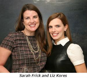 Sarah Frick  Liz Kores