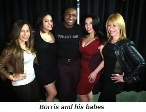 Borris and his babes
