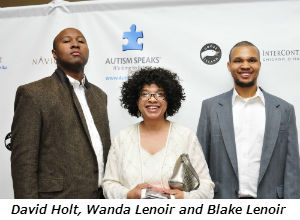 David Holt Wanda Lenoir and Blake Lenoir