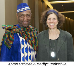 Aaron Freeman and Marilyn Rothschild