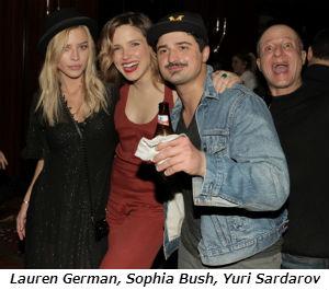 Lauren German Sophia Bush Yuri Sardarov