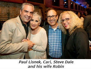 Paul Lisnek Cari Meyers and Steve Dale and His Wife Robin